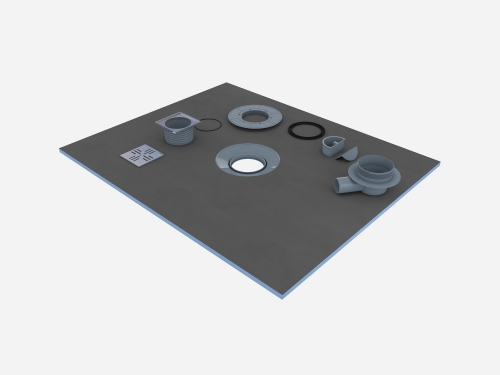 LUX H55 Shower Tray